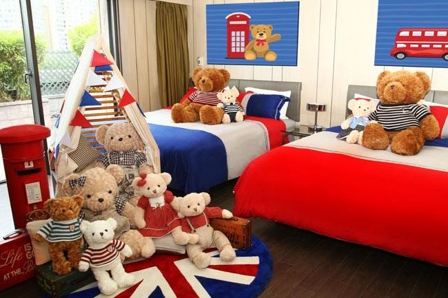 挪亞方舟度假酒店 冬日推出全新「啤啤熊英倫遊」主題客房