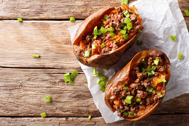 Mexican-style Chilli Con Carne Potato Skin 墨西哥辣肉薯皮