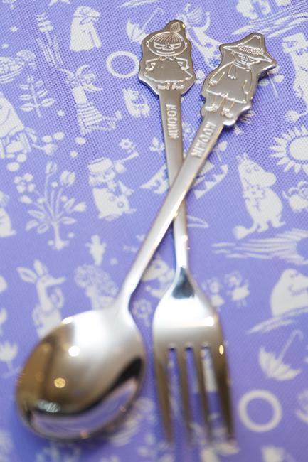 Moomin不鏽鋼餐具是粉絲必儲的精品