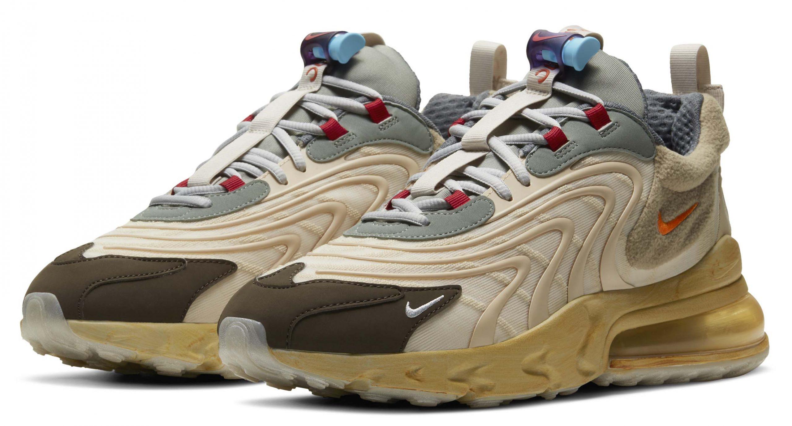 Nike x Travis Scott豐富細節,玩味十足