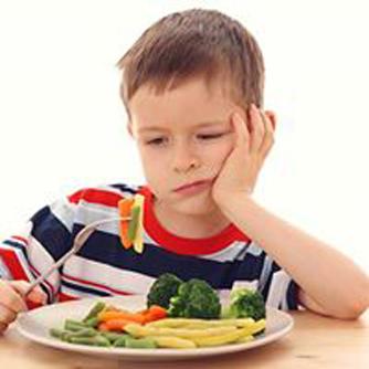 不喜欢吃蔬菜的儿童 情绪容易出现问题