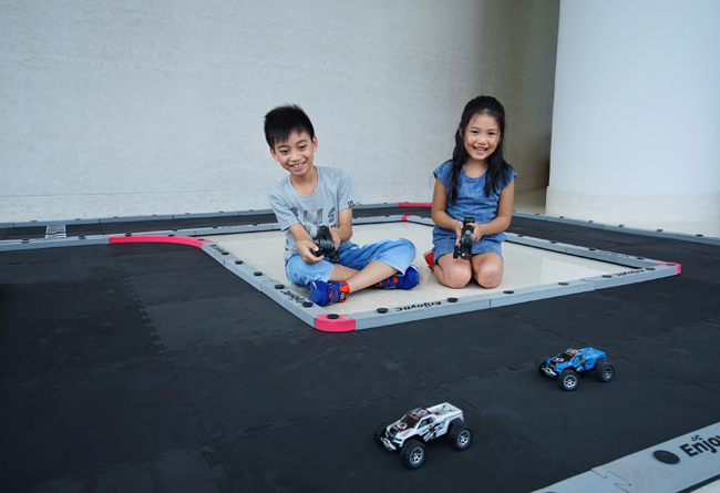 Summer Staycation - Remote Control Racing Track