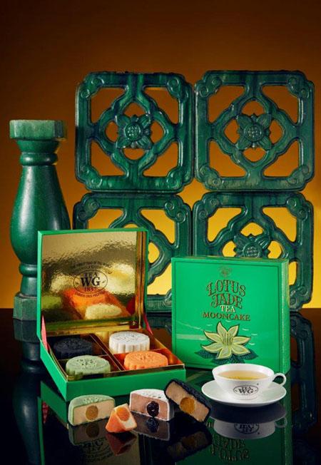 Tea WG Snowskin Mooncakes in Box of 4 (1)
