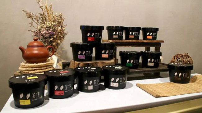 Tea-ed Gelato cups