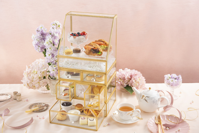 Uptop Bistro and Bar - Brilliance of Pearls Afternoon Tea Set 1