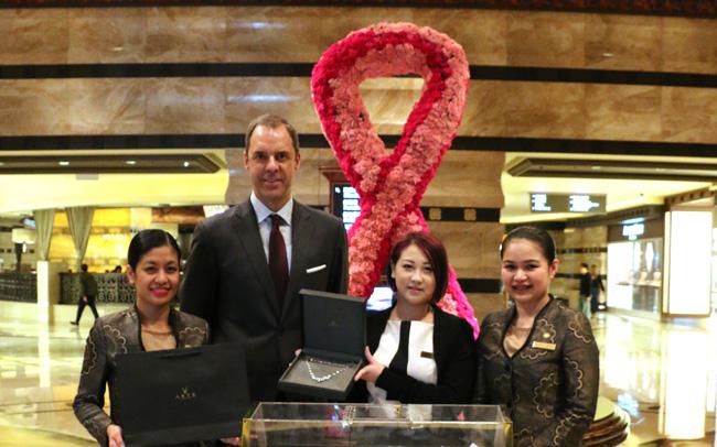 澳门康莱德酒店2015「粉红革命」活动完满结束