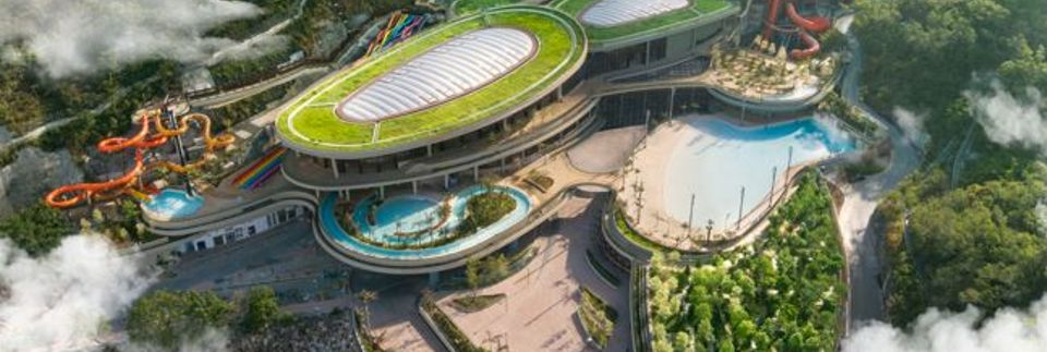 香港海洋公園水上樂園景點概覽